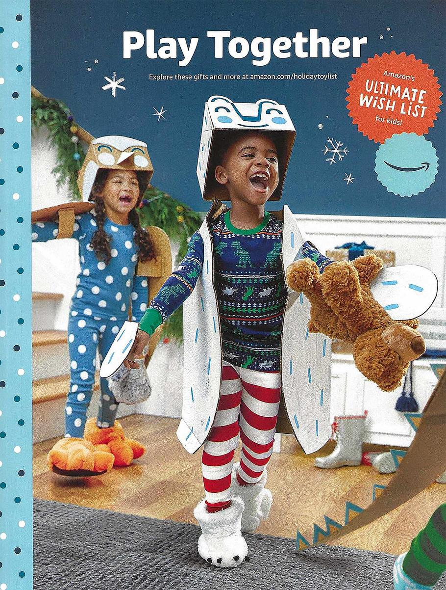 Amazon Holiday Toy Books Ad Scan 2019