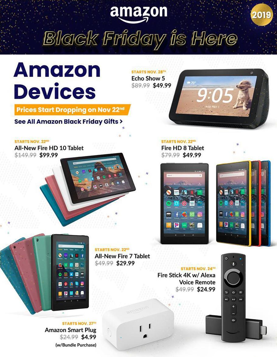 Amazon Black Friday Ad Scan 2019