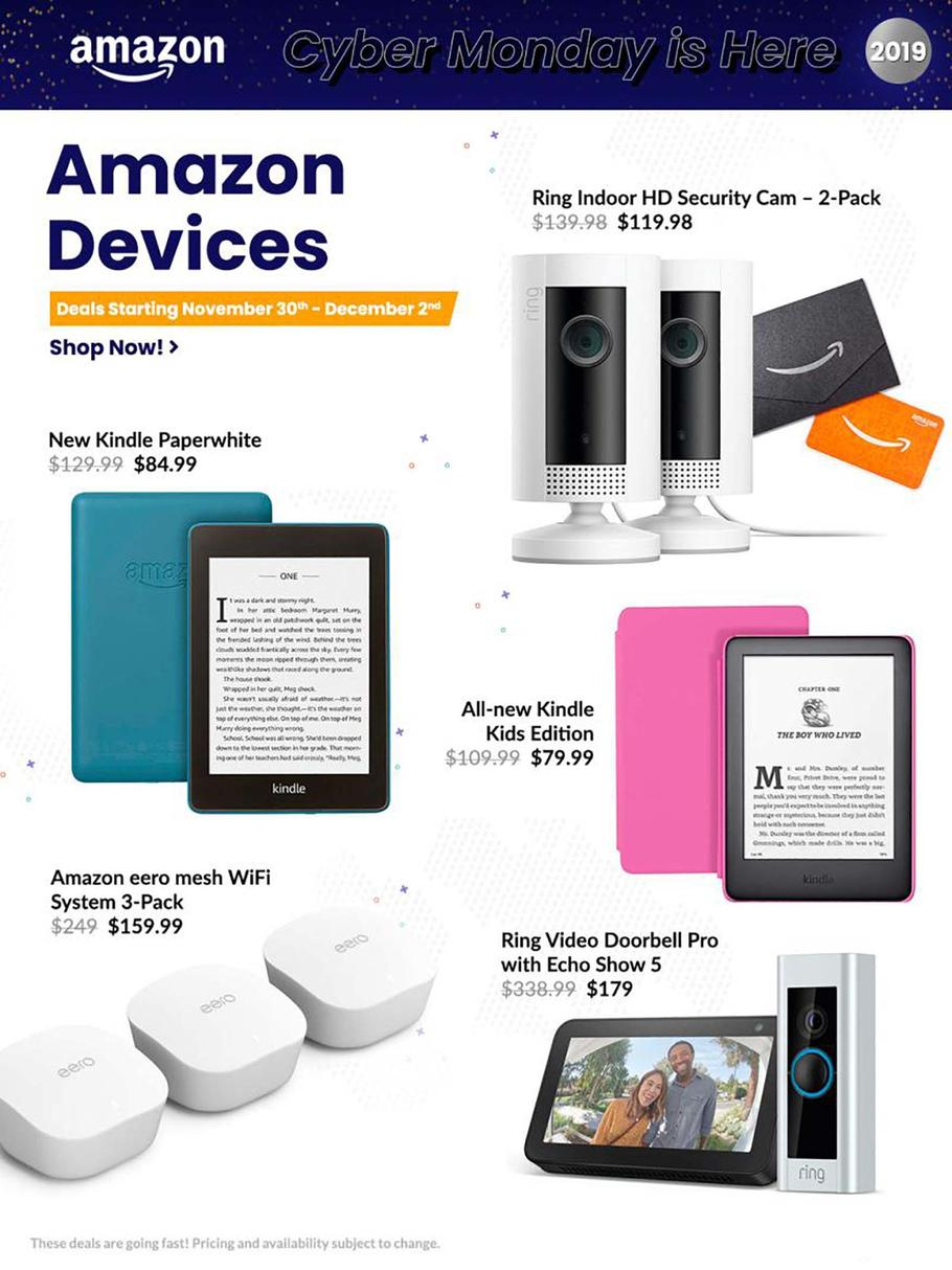 Amazon Cyber Monday Ad Scan 2019