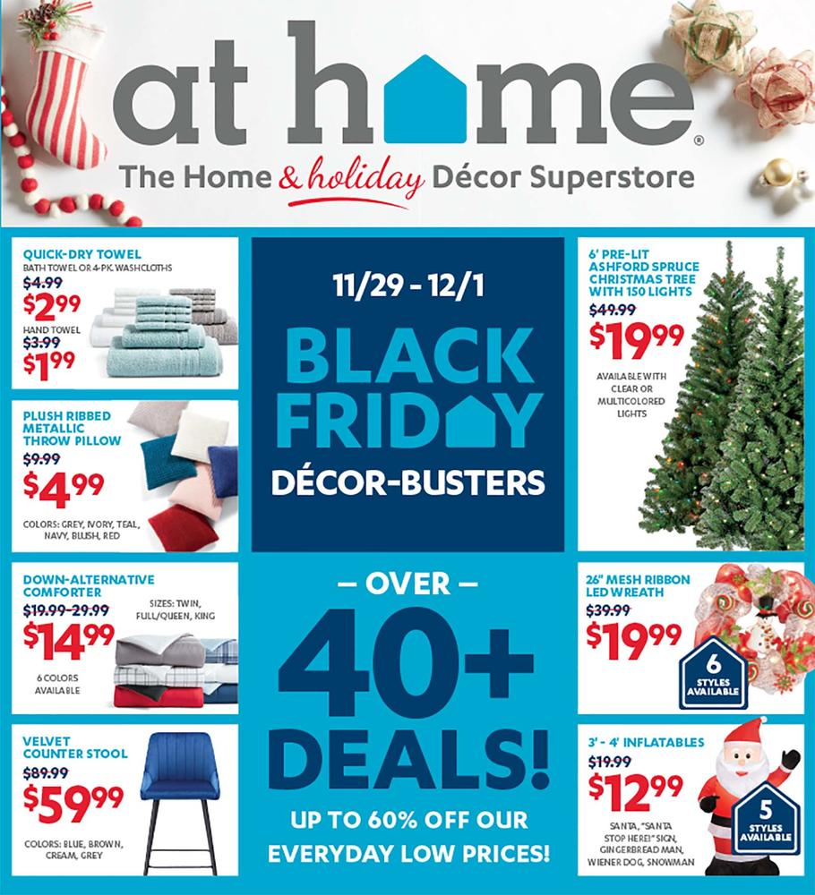 At Home Black Friday Ad Scan 2019