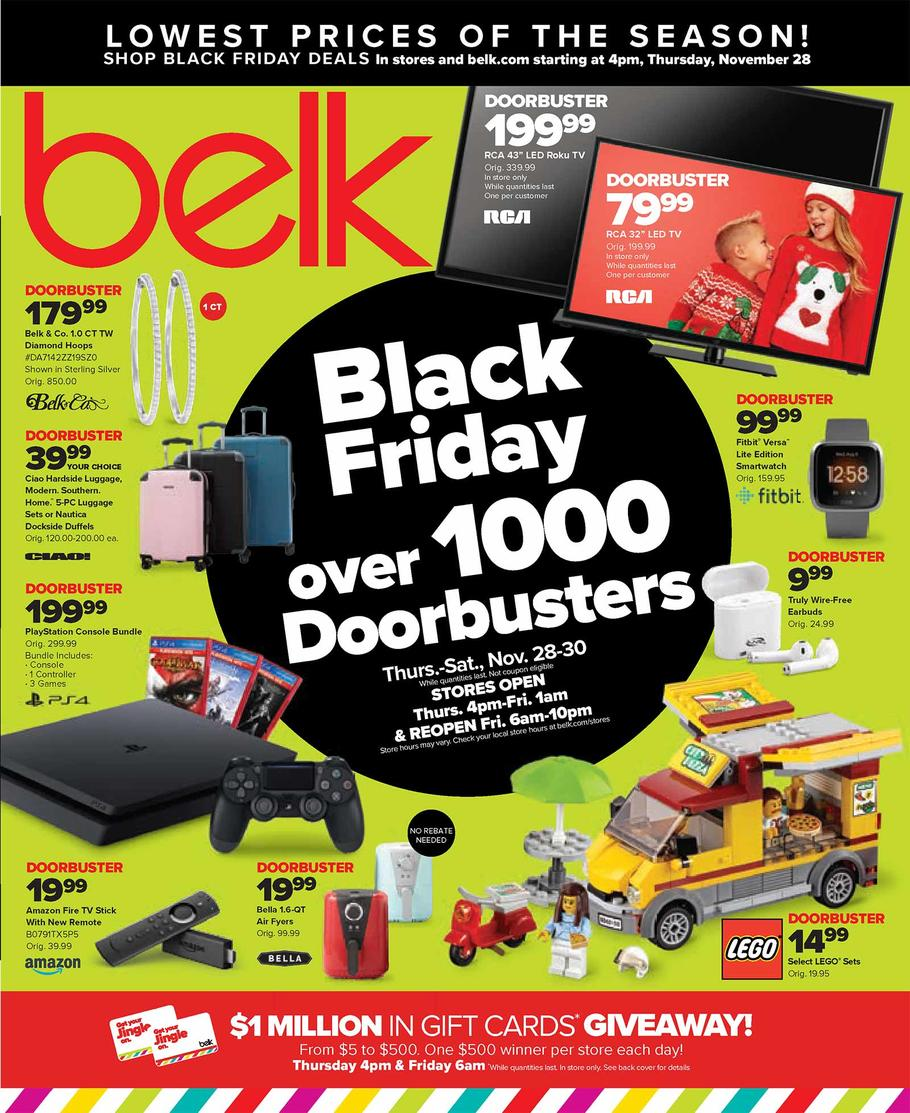 Belk Black Friday Ad Scan 2019