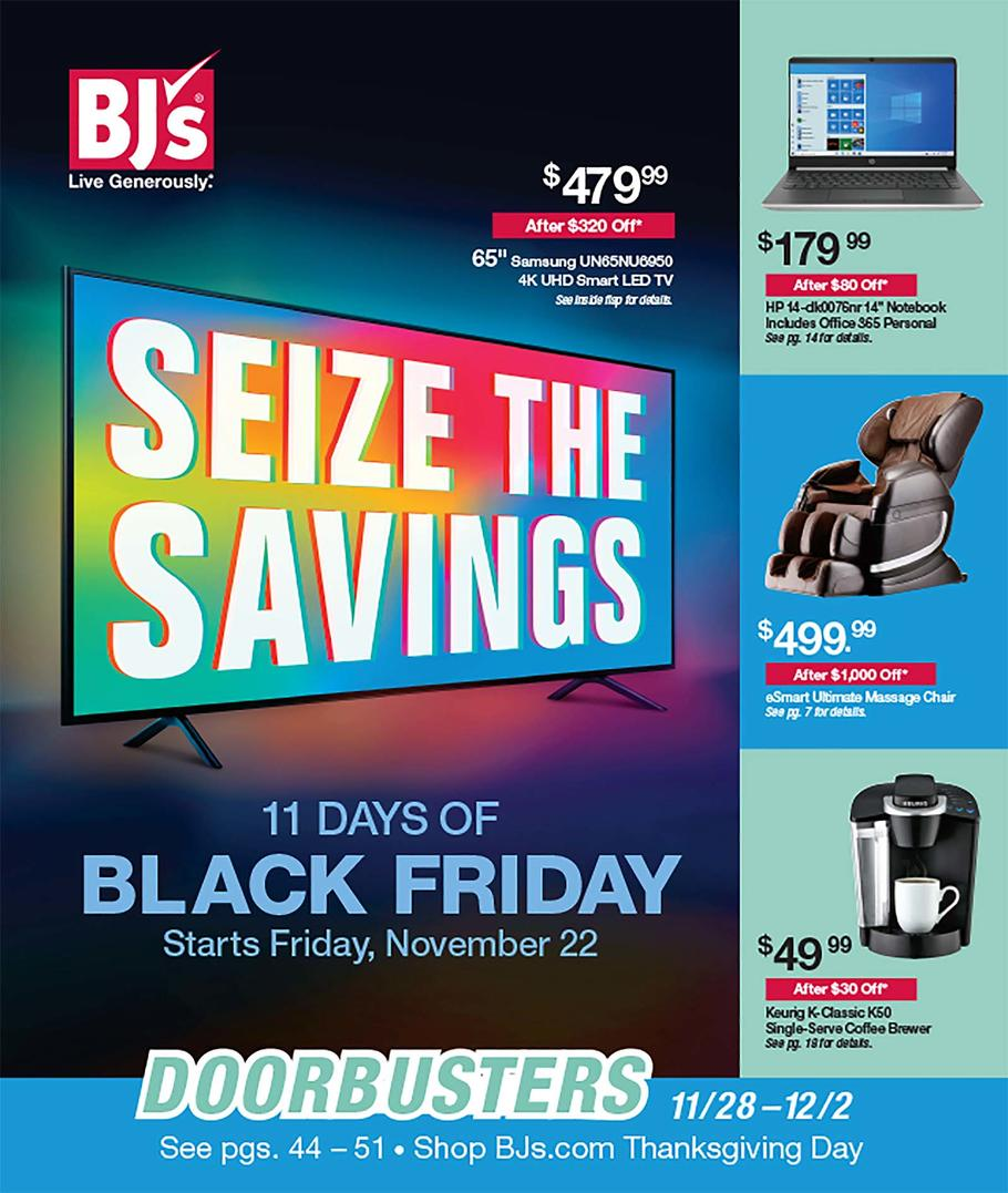 BJ's Wholesale Black Friday Ad Scan 2019