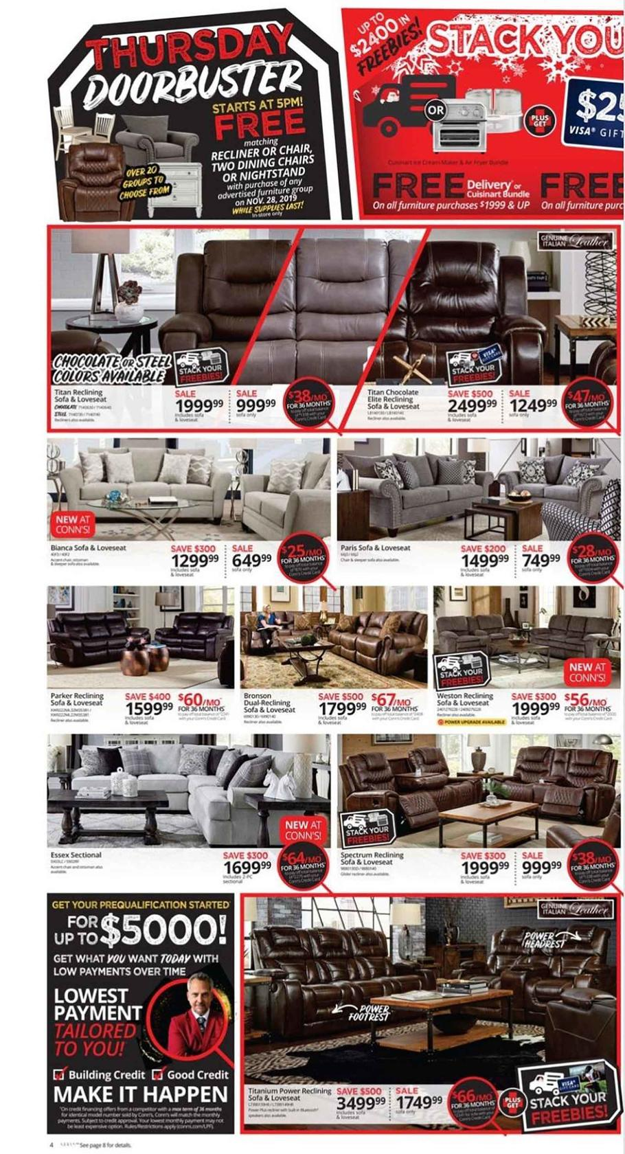 Conn's HomePlus Black Friday Ad Scan 2019