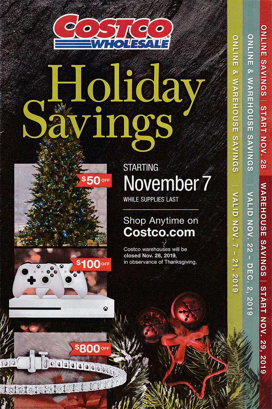 Costco Black Friday Ad Scan 2019
