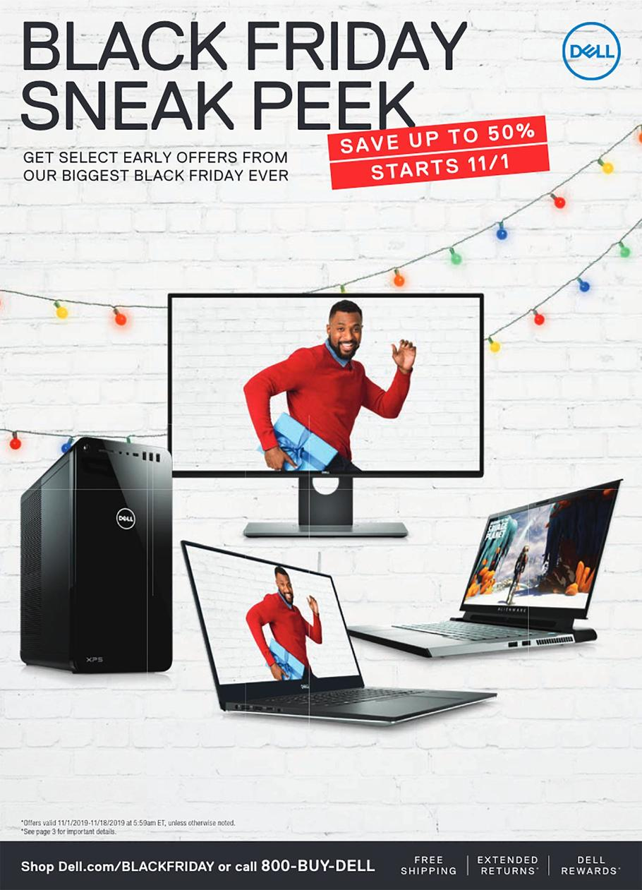 Dell Home & Home Office Black Friday Ad Scan 2019