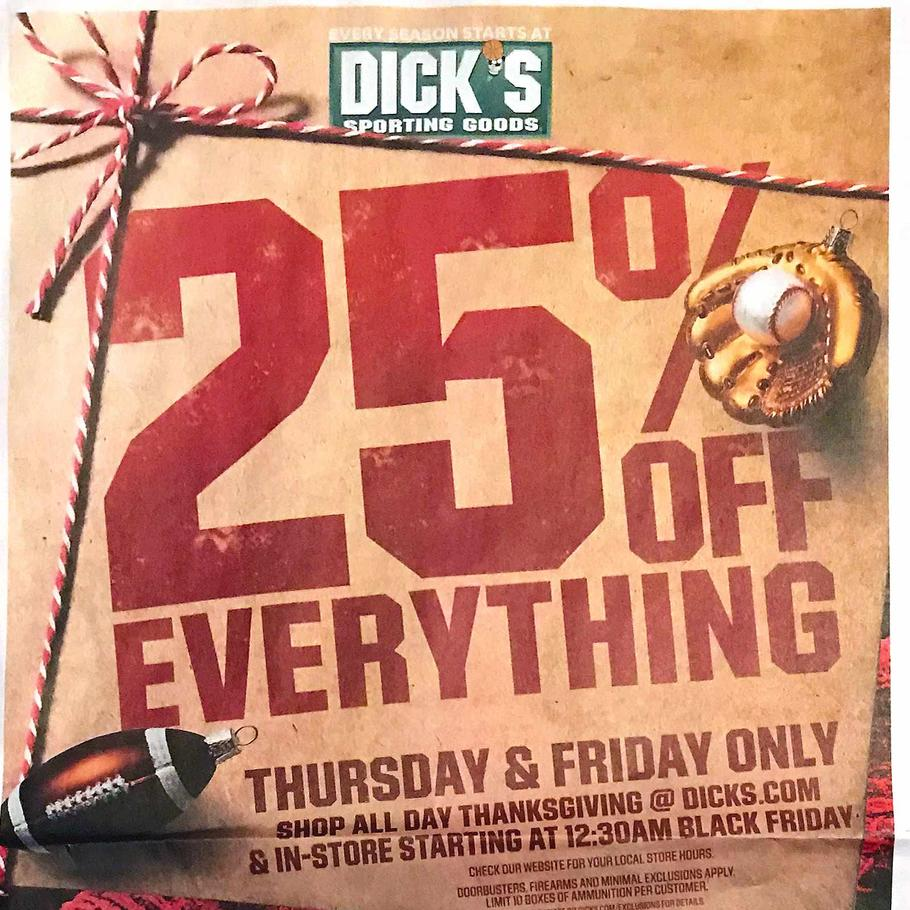 Dick's Sporting Goods Black Friday Ad Scan 2019