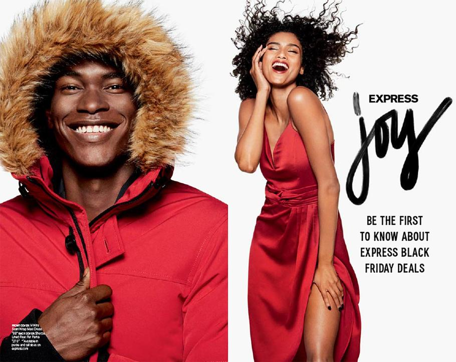 Express Black Friday Ad Scan 2019