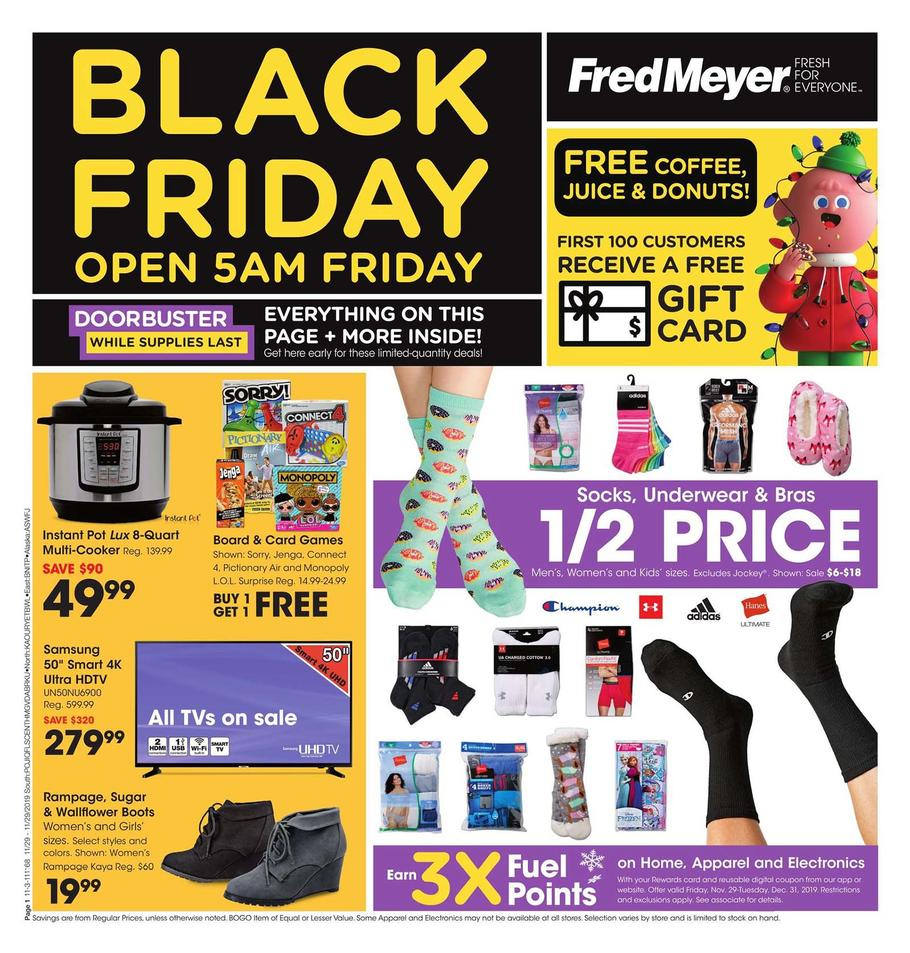 Fred Meyer Black Friday Ad Scan 2019