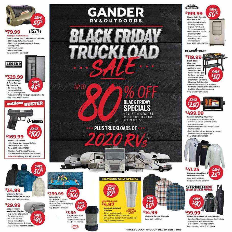 Gander Outdoors Black Friday Ad Scan 2019