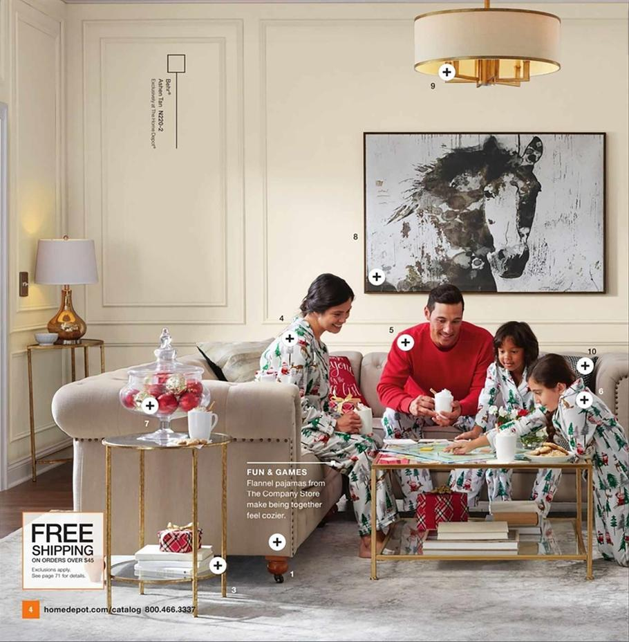 Home Depot Holiday Book Ad Scan 2019