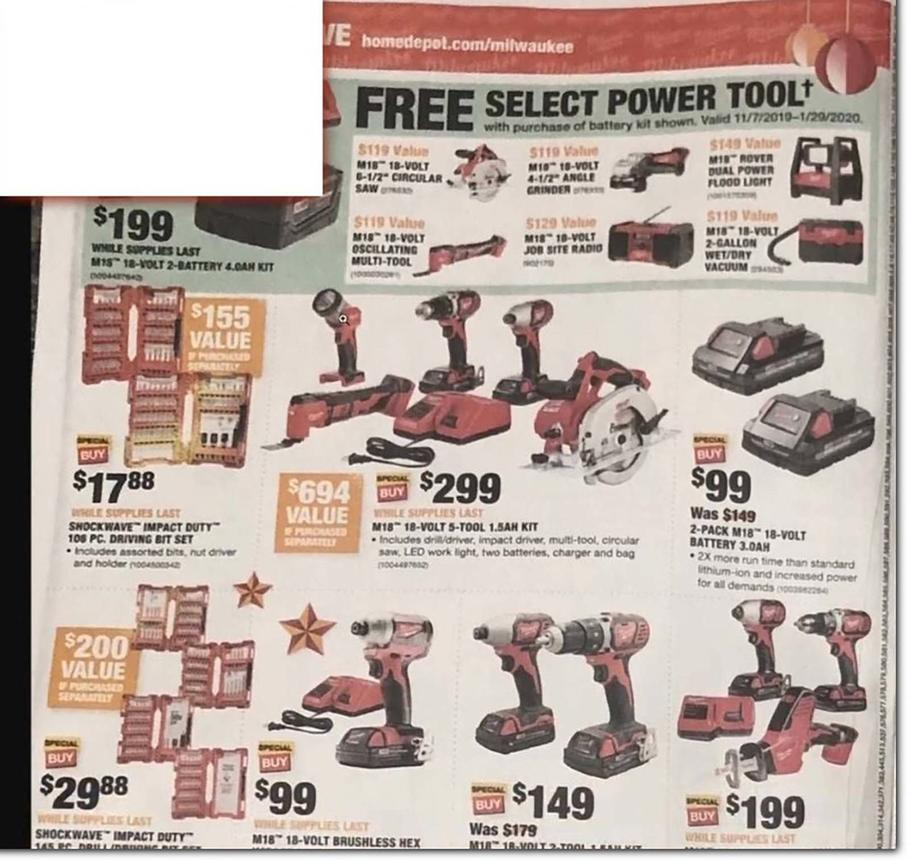 Homedepot Black Friday Ad Scan 2019
