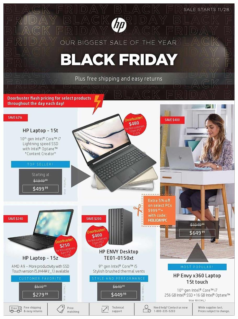 Home & Home Office Black Friday Ad Scan 2019