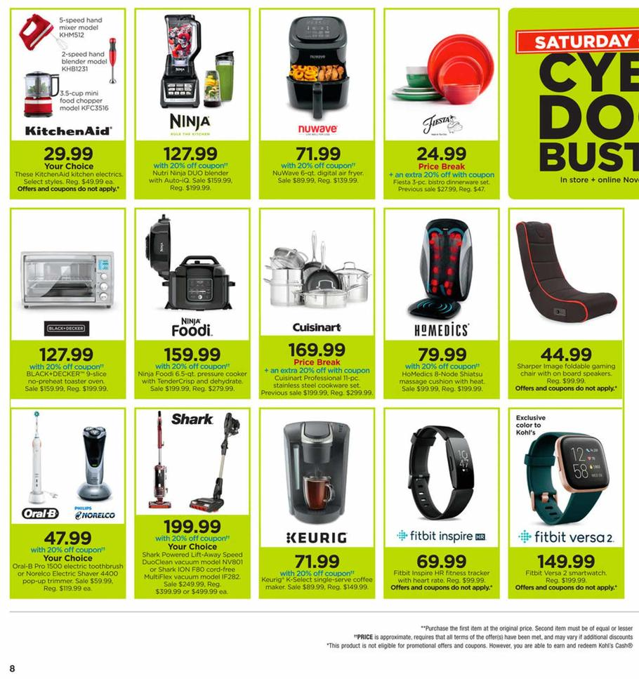 Kohls Cyber Monday Ad Scan 2019