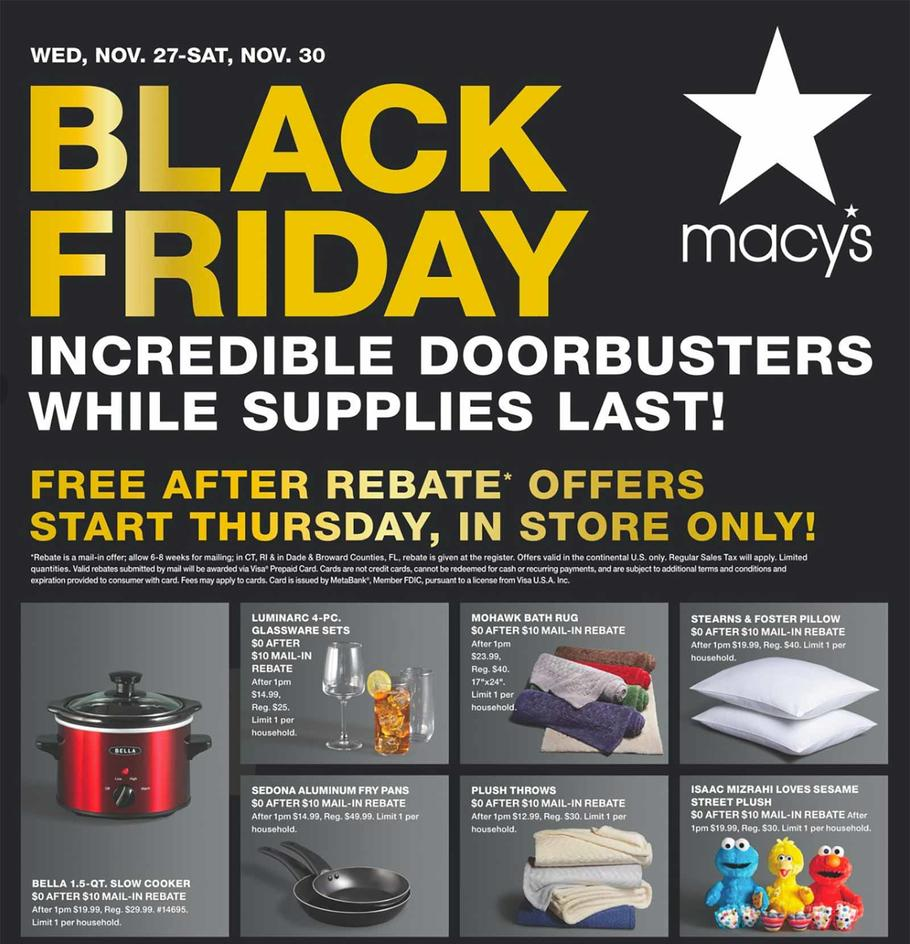 Macys Black Friday Ad Scan 2019