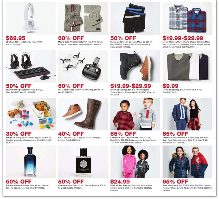 Macy S Cyber Monday Ad Scan Deals And Sales 2019 101blackfriday Com