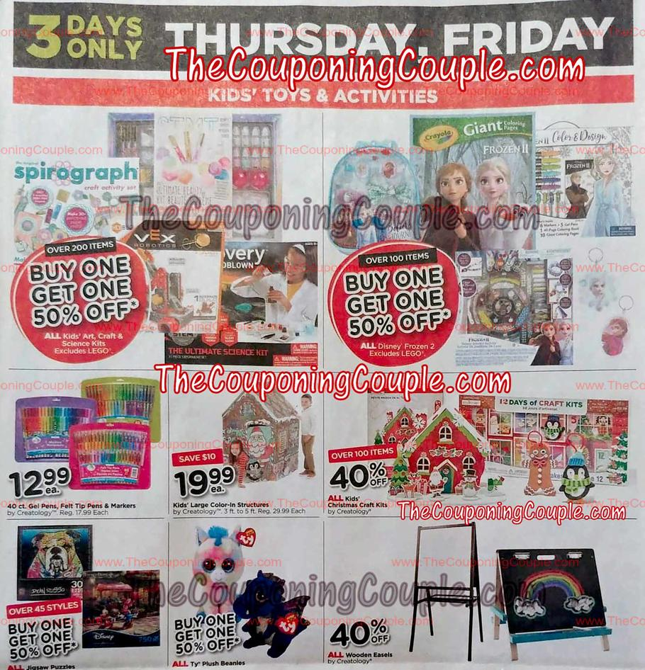Michaels Black Friday Ad Scan 2019
