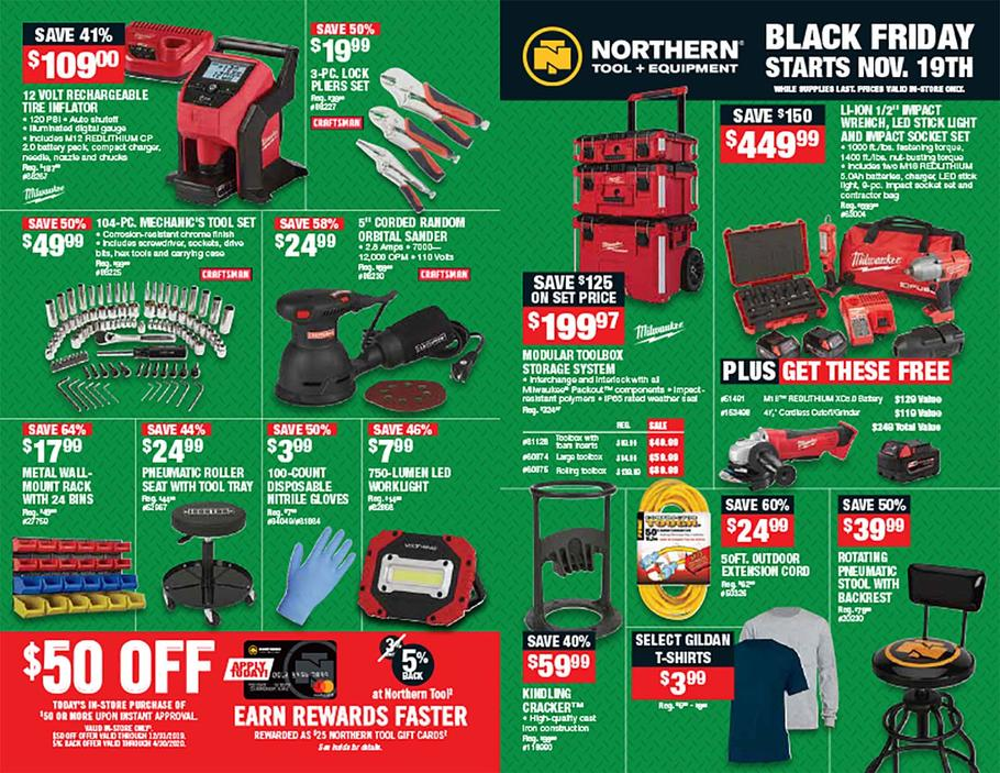 Northern Tool Black Friday Ad Scan 2019