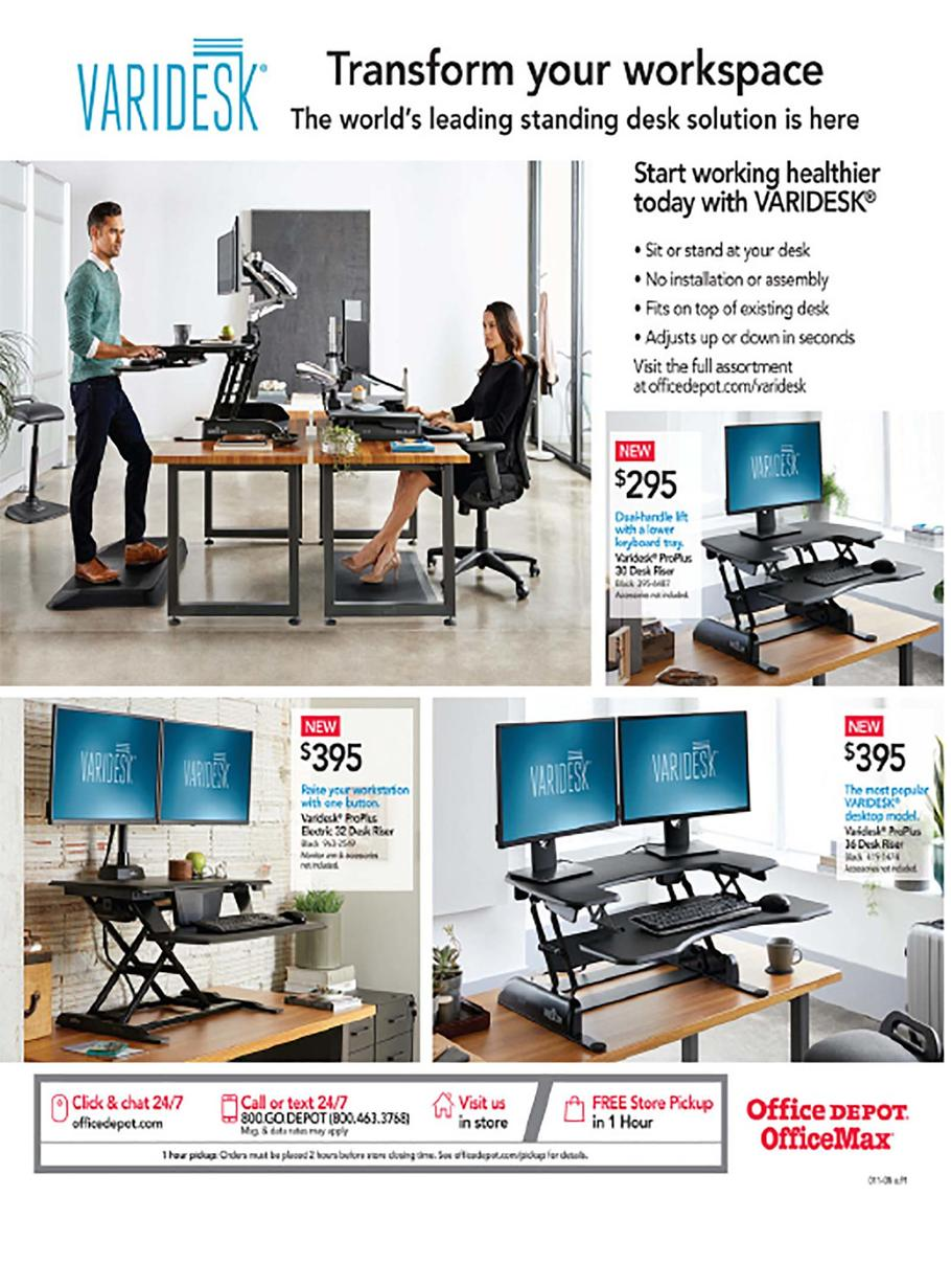 Office Depot and OfficeMax Cyber Monday Ad Scan 2019