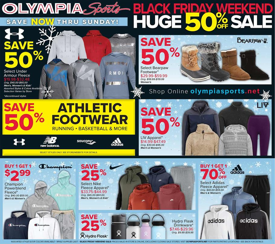 Olympia Sports Black Friday Ad Scan 2019