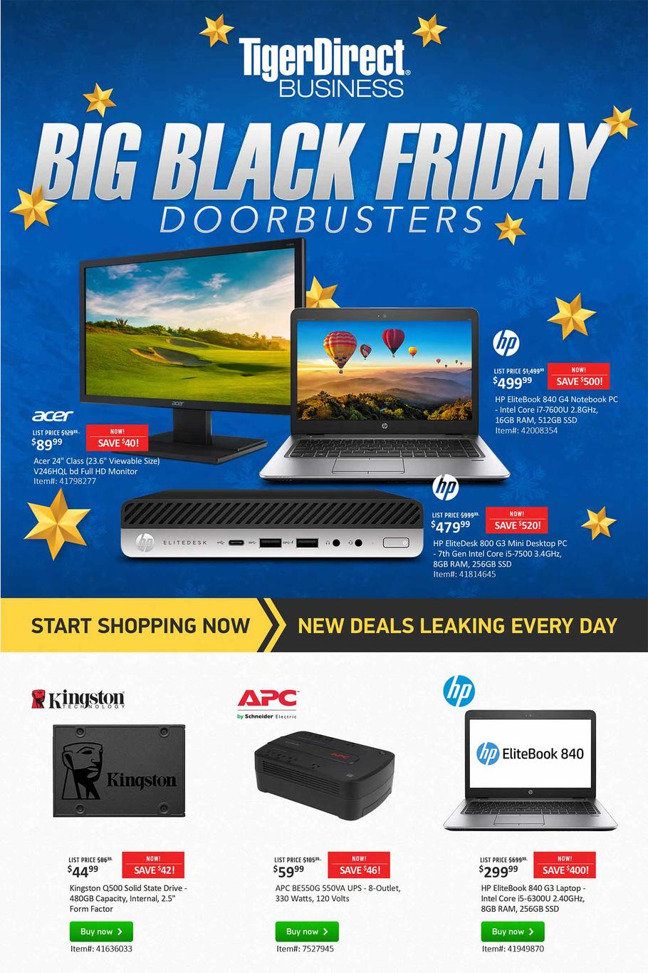 Tiger Direct Black Friday Ad Scan 2019
