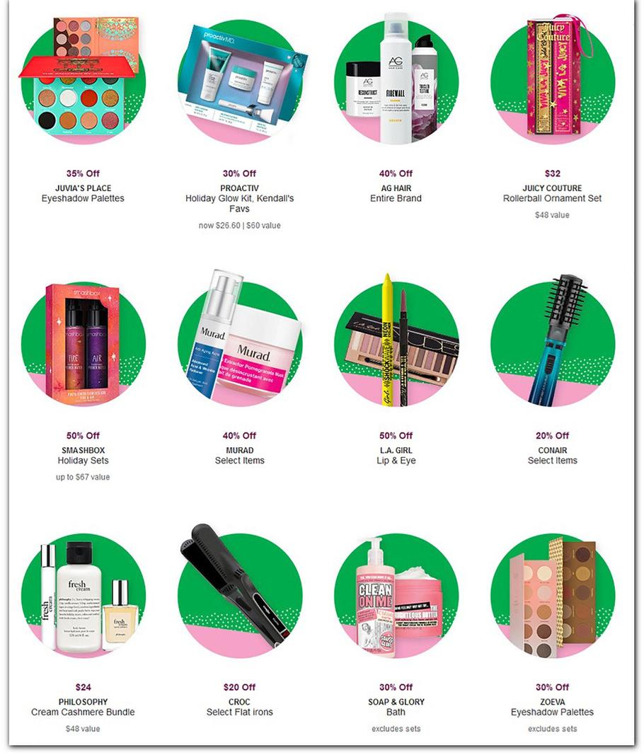 ULTA Beauty Black Friday Ad Scan 2019