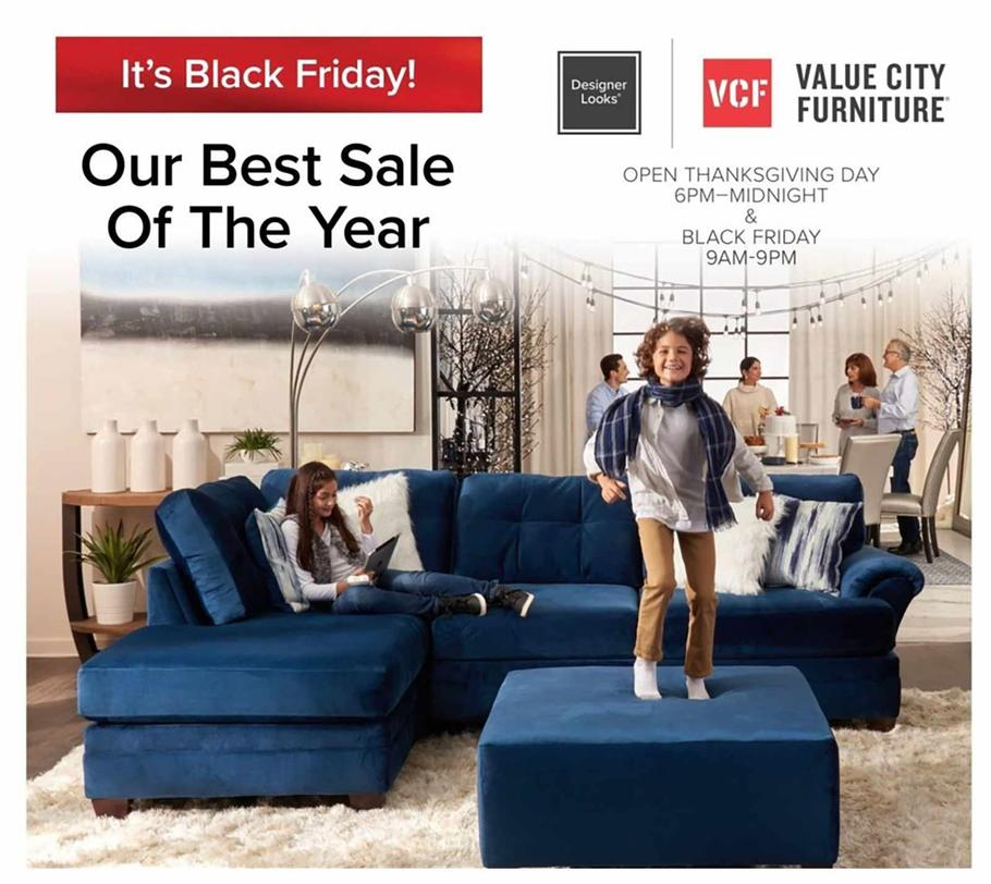 Value City Black Friday Ad Scan 2019