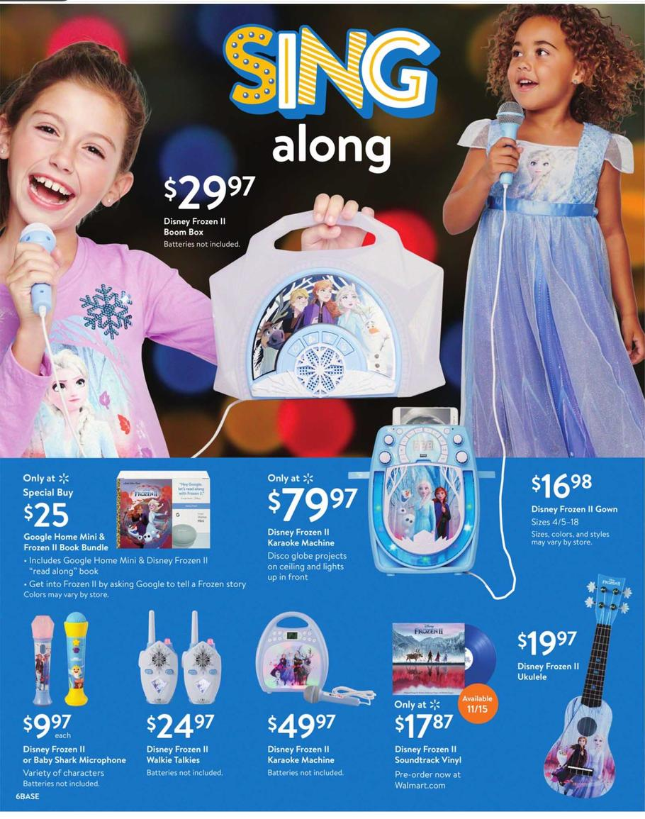 Walmart Toy Books Ad Scan 2019