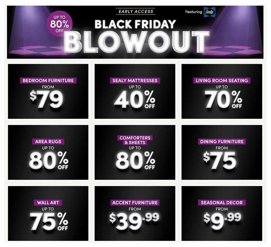 Wayfair Black Friday Ad Scan 2019