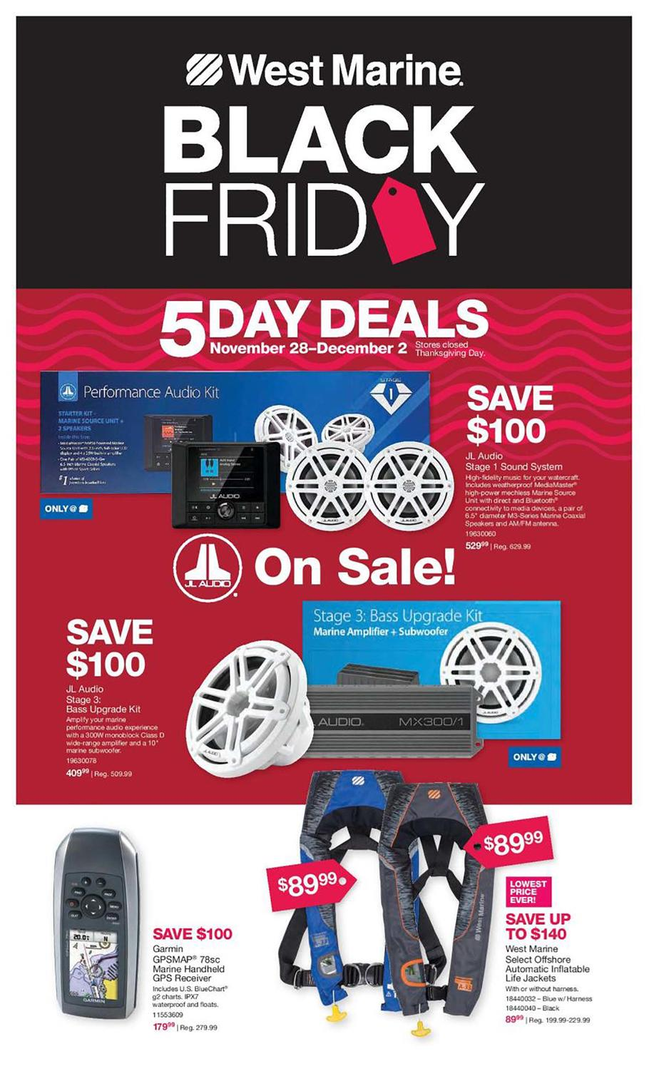West Marine Black Friday Ad Scan 2019